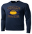 Bulldog Youth Football Performance Tee LS - Navy