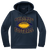 Bulldog Youth Football Performance Hoody - Navy