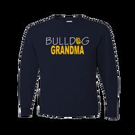 Bulldog Grandma LS Tee
