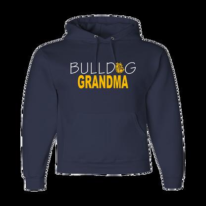 Bulldog Grandma Hoody
