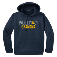 Bulldog Grandma Performance Hoody