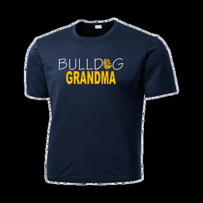 Bulldog Grandma Performance Tee