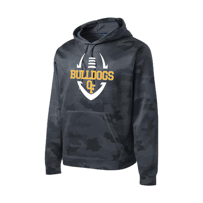 Bulldog Football Camohex Hoody