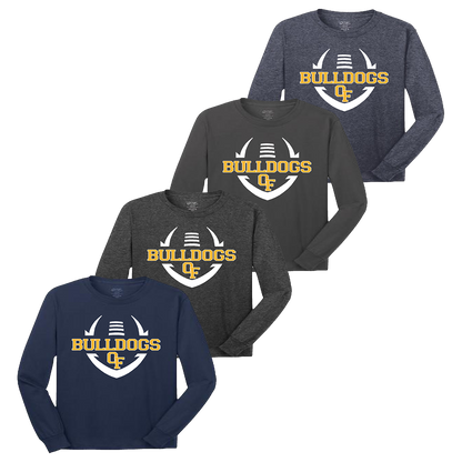 Bulldog Football LS Tee