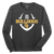 Bulldog Football LS Tee - Dark Heather Grey