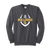 Bulldog Football Crewneck-Charcoal
