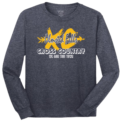 OFMS Cross Country LS Tee