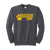 Bulldog Mom Crewneck-Charcoal