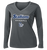 Stallions Ladies Performance LS Tee - Iron Grey