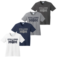 2017 Stallions Mom Ladies Tee  (F143/F156)