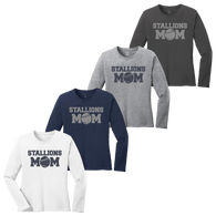 Stallions Mom Ladies LS Tee