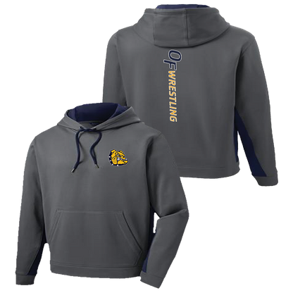 Falls Youth Wrestling Colorblock Performance Hoodie