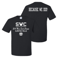 OFHS Mens Soccer SWC Champion Tee