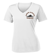 NOHS Swim & Dive Ladies Performance V-Neck Tee