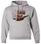 NOHS Swim & Dive Crewneck Hoodie - Athletic Heather