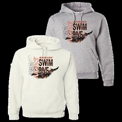 NOHS Swim & Dive Crewneck Hoodie