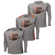NOHS Swim & Dive Colorblock Performance LS Tee