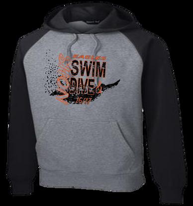 NOHS Swim & Dive Colorblock Hoodie