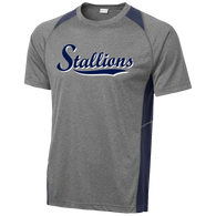 2017 Stallions Colorblock Performance Tee (F145)