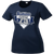 2017 Stallions 25th Anniversary Ladies Performance Tee - Navy