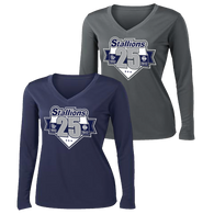 2017 Stallions 25th Anniversary Ladies Performance Tee