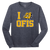 OFIS LS Tee - Heather Navy