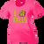 OFIS Ladies Performance Tee - Neon Pink