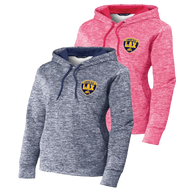 OFHS LAX Ladies Electric Heather Fleece Hoodie
