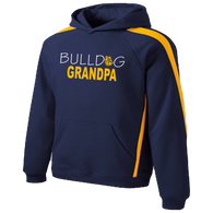 Bulldog Grandpa Colorblock Hoody
