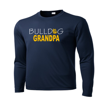 Bulldog GrandPa Performance Tee LS