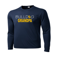 Bulldog GrandPa Performance Tee LS