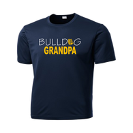 Bulldog Grandpa Performance Tee