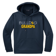 Bulldog Grandpa Performance Hoody