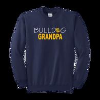Bulldog Grandpa Crewneck
