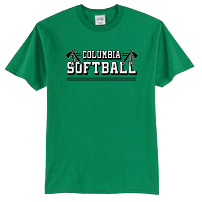 Columbia Softball Tee