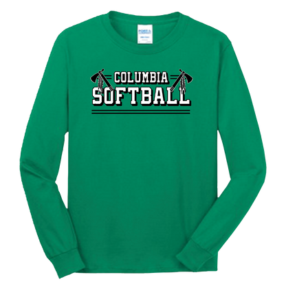 Columbia Softball LS Tee