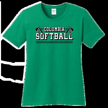 Columbia Softball Ladies Tee