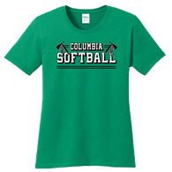 Columbia Softball Ladies Tee
