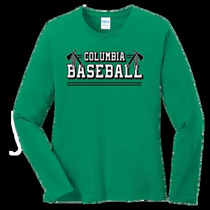 Columbia Baseball Ladies LS Tee