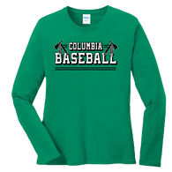 Columbia Baseball Ladies LS Tee