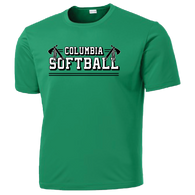 Columbia Softball Performance Tee