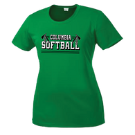Columbia Softball Ladies Performance Tee