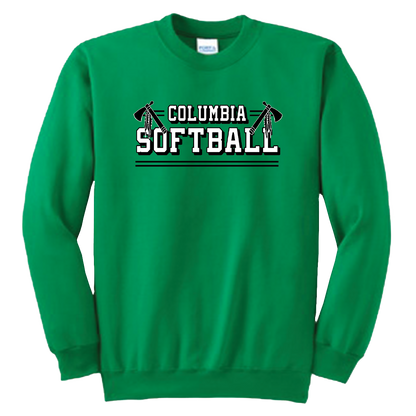 Columbia Softball Crewneck