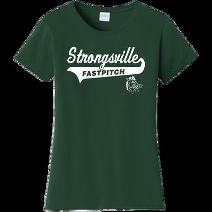 Strongsville Mustangs Ladies Tee