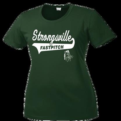 Strongsville Mustangs Ladies Performance Tee