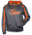 Premier Ohio Fusion Hoodie - Carbon/Burnt Orange