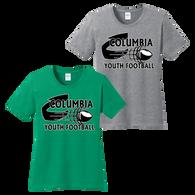 Columbia Youth Football Ladies Tee