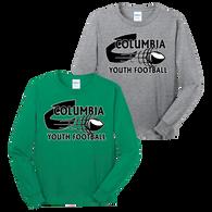 Columbia Youth Football LS Tee