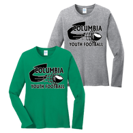 Columbia Youth Football Ladies LS Tee