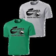 Columbia Youth Football Performance Tee
